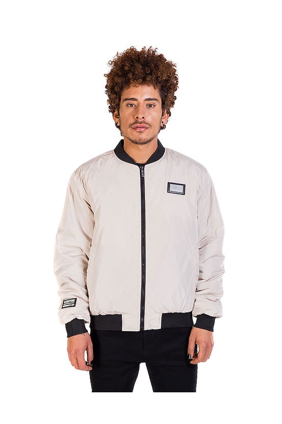 Chaqueta Bomber Awesome Beige Zoo York