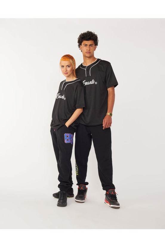 Camiseta M/C Baseball Hood Negro Errante