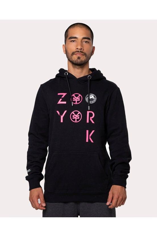 Poleron Hood Zen Negro Zoo York
