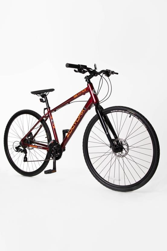 Bicicleta Soho Burdeo Zoo York Aro 28