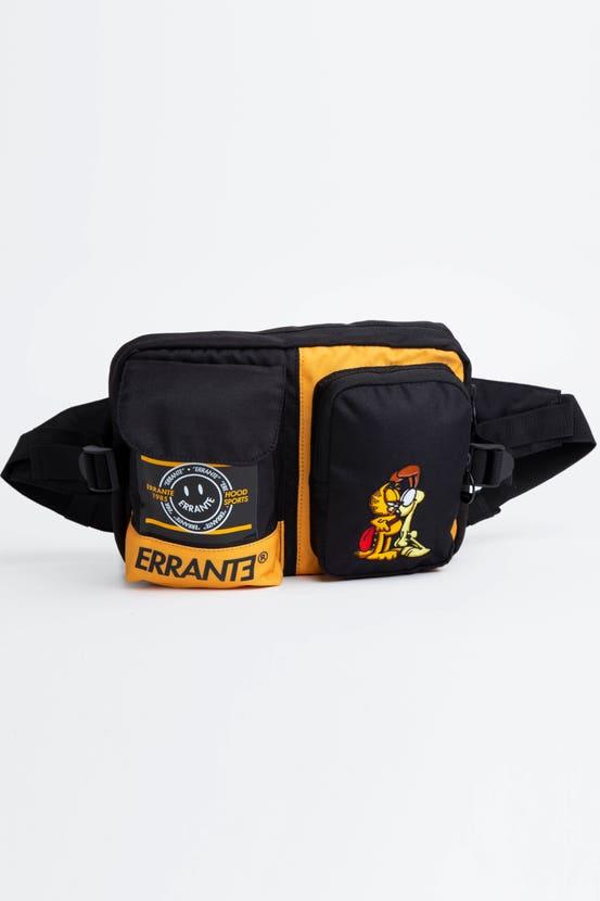 Banano Garfield Block Negro Errante Unisex