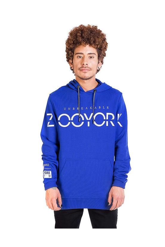 Poleron Hood Wanted Cobalt Zoo York