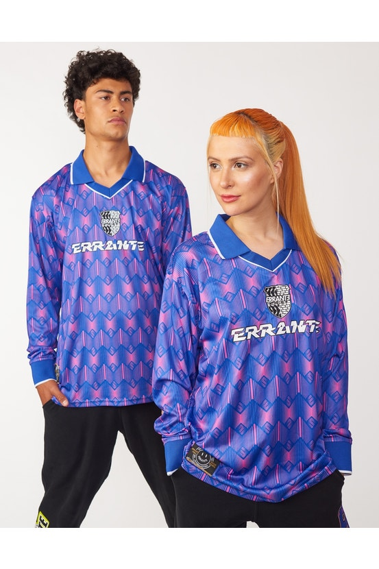 Camiseta M/L Challenge Azul Errante