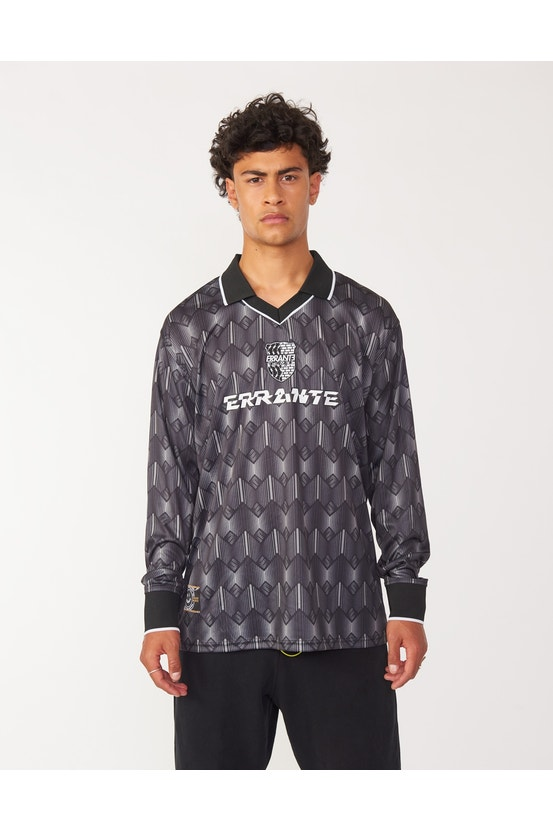 Camiseta M/L Challenge Negro Errante