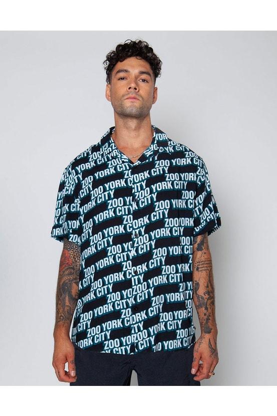 Camisa M/C Biggy Negro Zoo York