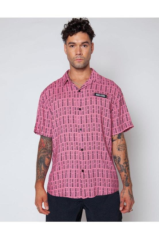 Camisa M/C Bling Rosado Zoo York
