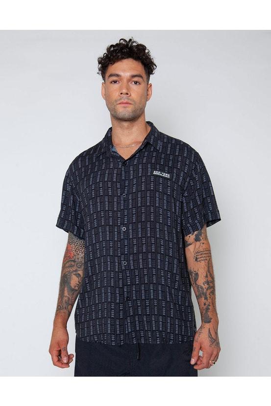 Camisa M/C Bling Negro Zoo York