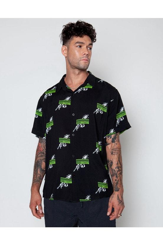 Camisa M/C Omd Negro Zoo York