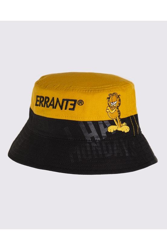 Bucket Garfield Blocky Negro Errante